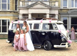 Campervan for weddings in Portsmouth